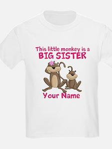 Big sister monkey T-Shirt