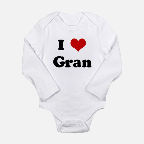 I Love Gran Body Suit