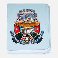 US Navy SAR baby blanket
