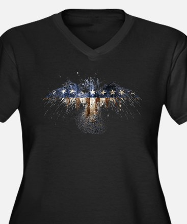 The Real American Eagle Plus Size T-Shirt