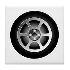 Car Tire Tile Coaster