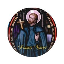 Francis Xavier Ornament (Round)