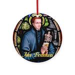 John Berchmans Ornament (Round)