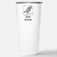 Edgar Allan Poe W Travel Mug