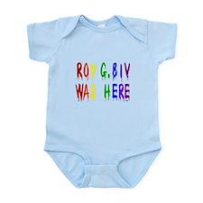 Roy G. Biv Graffiti (color wh Infant Bodysuit