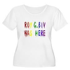 Roy G. Biv Graffiti (color wh T-Shirt