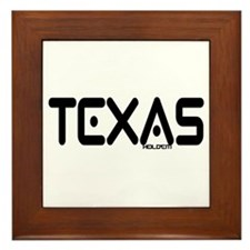 """Texas Hold'em"" Framed Tile"