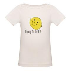 Happy Face Organic Baby T-Shirt