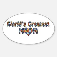 World's Greatest Mom (Autism) Decal