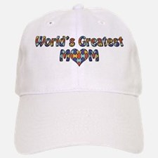 World's Greatest Mom (Autism) Baseball Baseball Cap