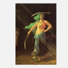 An Almeh Performing the Sword Postcards(Pack of 8)