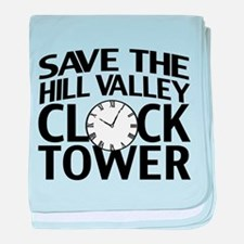 Save The Clock Tower baby blanket
