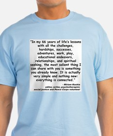 Kashia Connected Quote T-Shirt