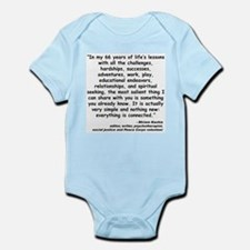 Kashia Connected Quote Infant Bodysuit