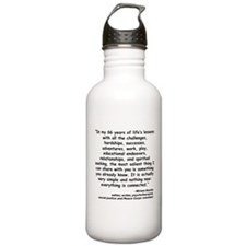 Kashia Connected Quote Water Bottle