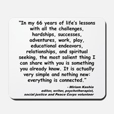 Kashia Connected Quote Mousepad
