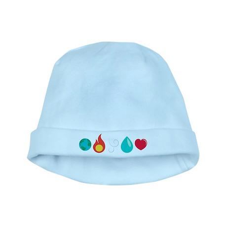 Love Elemental baby hat