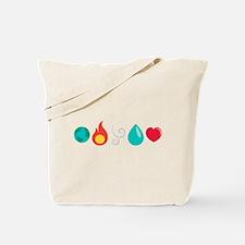 Love Elemental Tote Bag
