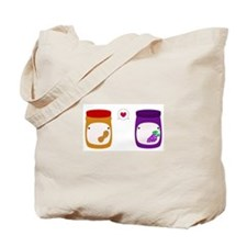 Funny Peanut butter Tote Bag