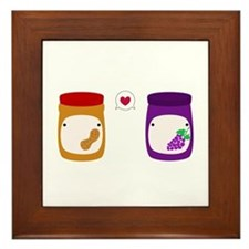Cute Love Framed Tile