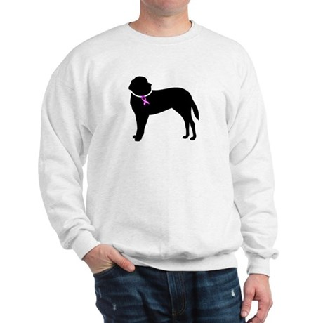 Saint Bernard Breast Cancer Support Sweatshirt