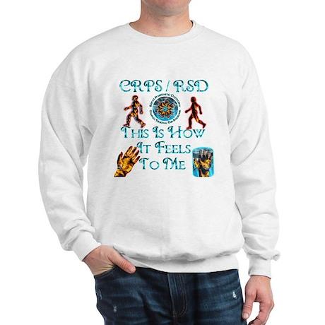 CRPS / RSD This Is How It Fee Sweatshirt