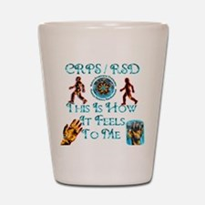 CRPS / RSD This Is How It Fee Shot Glass