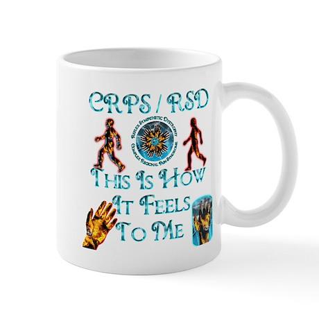 CRPS / RSD This Is How It Fee Mug