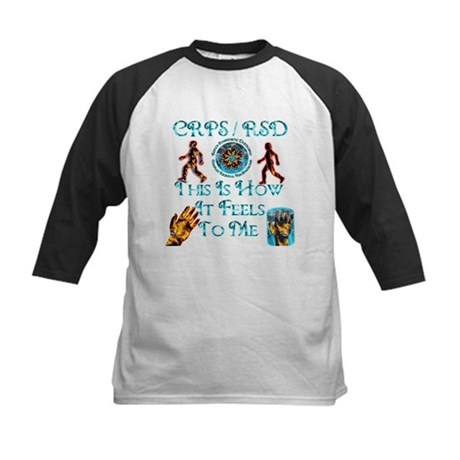 CRPS / RSD This Is How It Fee Kids Baseball Jersey