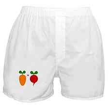 Cute Radish Boxer Shorts