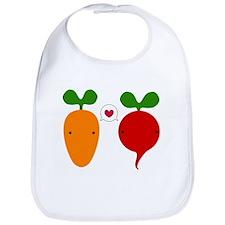 Unique Carrot Bib