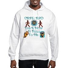CRPS / RSD This Is How It Fee Hoodie