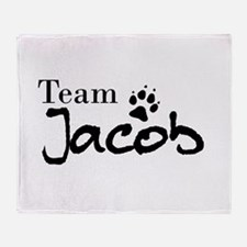 Twilight Team Jacob Throw Blanket