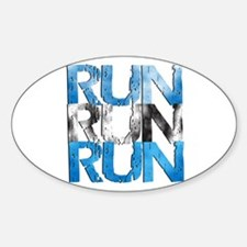 RUN x 3 Decal