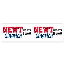 Newt Gingrich 2012 Car Sticker