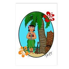 Cute Ukelele Postcards (Package of 8)