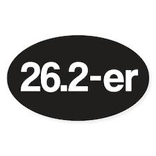 26.2-er or Marathoner Decal