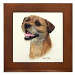 Border Terrier Framed Tile