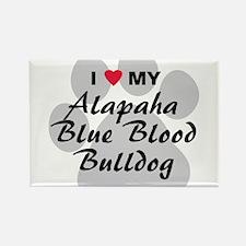 Alapaha Blue Blood Bulldog Rectangle Magnet