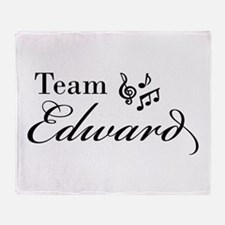 Twilight Team Edward Throw Blanket