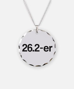 26.2-er or Marathoner Necklace
