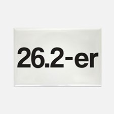 26.2-er or Marathoner Rectangle Magnet