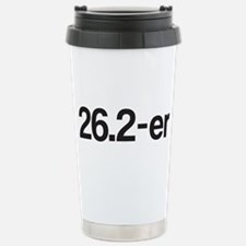 26.2-Er Or Marathoner Travel Mug