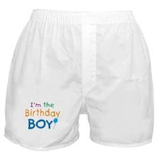Birthday Boy Boxer Shorts