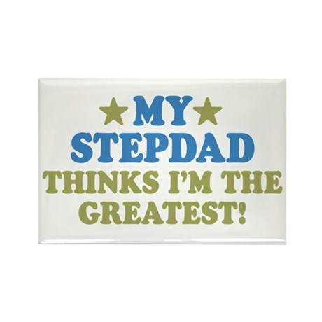 My Stepdad Rectangle Magnet (100 pack)