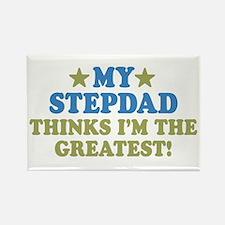 My Stepdad Rectangle Magnet