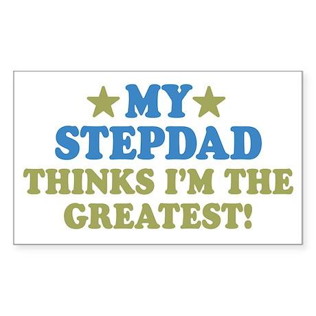 My Stepdad Sticker (Rectangle)