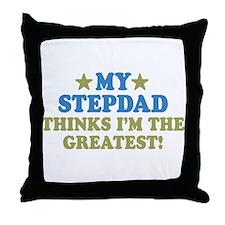 My Stepdad Throw Pillow