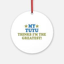My Tutu Ornament (Round)