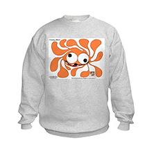 Funky Sun! In Pumpkin Sweatshirt